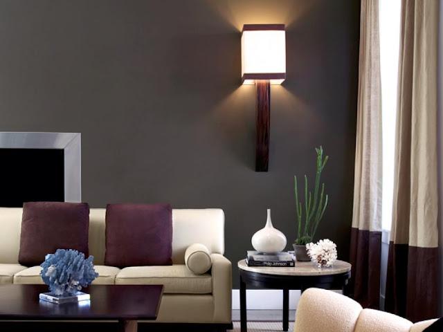 Deep Hues Living Room Design Ideas