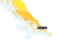 Narančasti meteoalarm za Splitsku regiju slike otok Brač Online