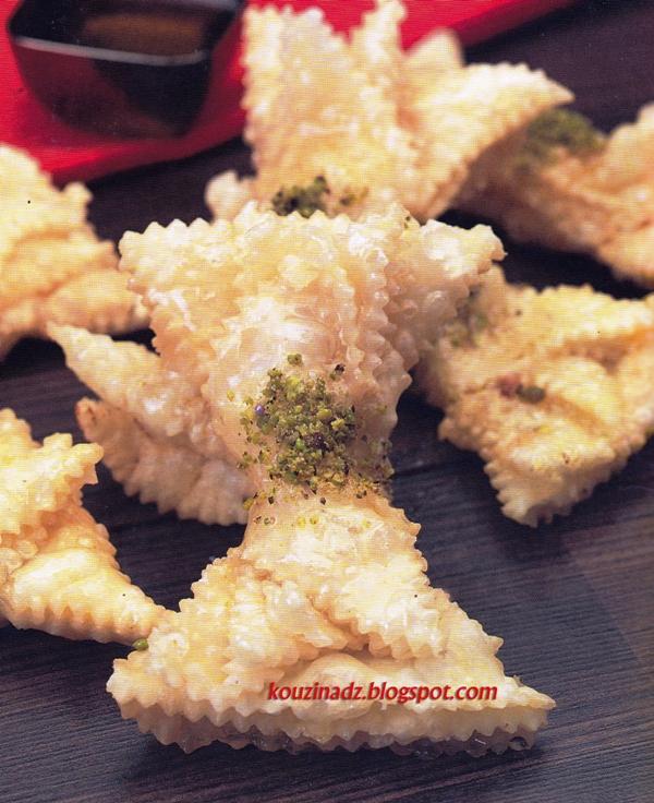 La cuisine alg rienne griwech papillon - Recette de cuisine algerienne moderne ...