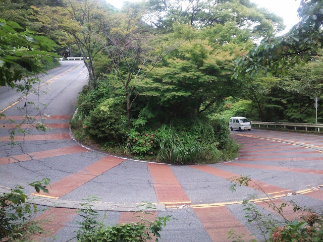 旧東海道 七曲り