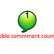 How to Add Beautiful Bubble Comment Counter to Blogger Blog | Pro Blogger Tricks