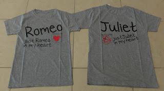 Jual Online Juliet Romeo Couple Murah di Jakarta Bahan Babytery Terbaru