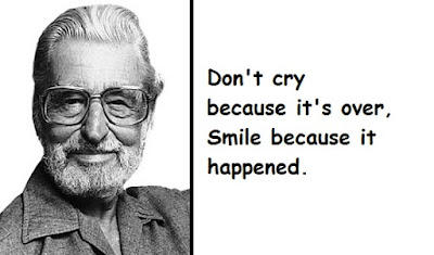 """Dr. Seuss Quotes - Don't Cry"""