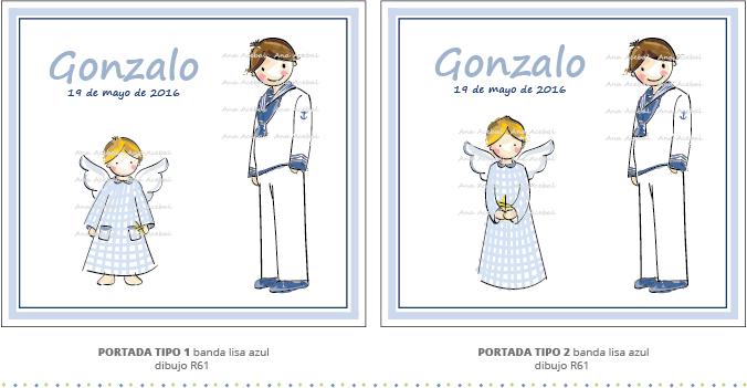 libro firmas comunion personalizado niño