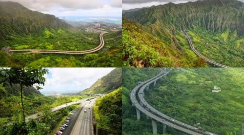 Jalan Tol Paling Indah dan Kontroversial di Hawaii