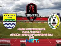 Persib vs PSS Sleman : Bali Island Cup 2016