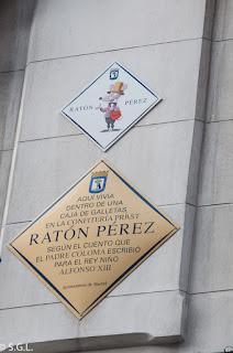 Ratoncito perez. Ruta lowcost por Madrid