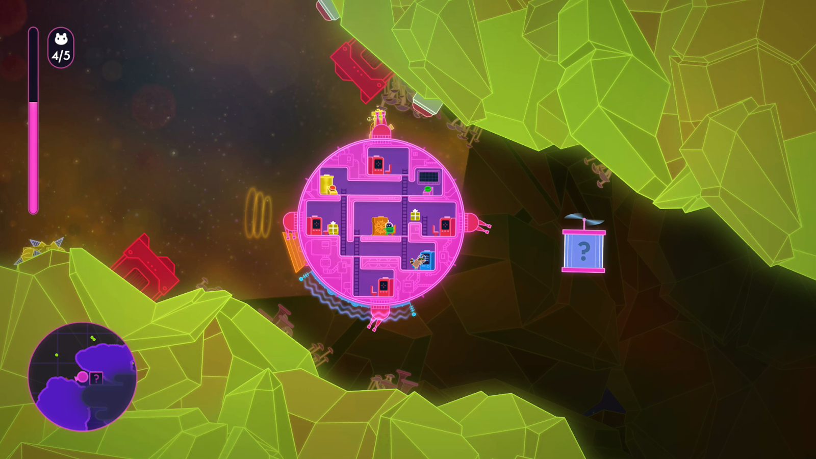 Nindie Spotlight Review Lovers In A Dangerous Spacetime