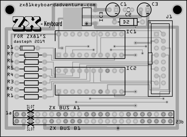 ZX-Key ZX81 Interface Guide Book | ZX81 Keyboard Adventure