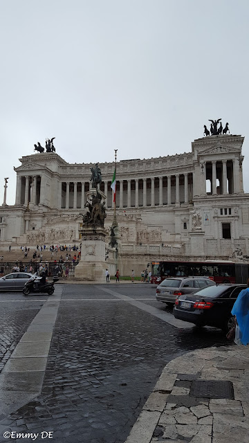 Altar of the Fatherland ~ also known as the National Monument to Victor Emmanuel II in Rome ~ Italy by ©Emmy DE
