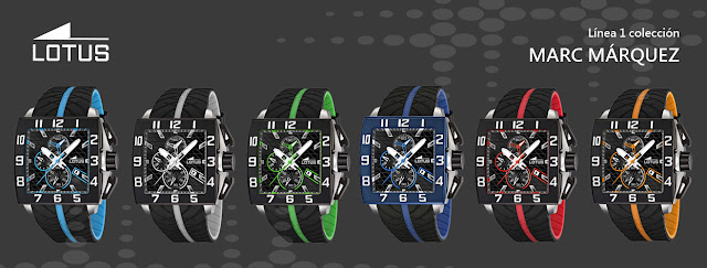 c2bb3069dcfc Lotus dedica toda una colección de relojes al piloto español Marc Márquez y  presenta 3 líneas de relojes inspirados en el arriesgado mundo del  motociclismo.