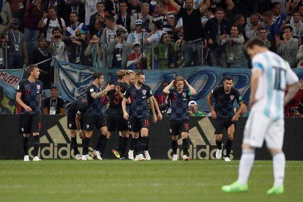 Mondial 2018: L'argentine de Messi se fait atomiser par la Croatie