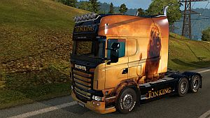 Lion skin for Scania RJL EXC Longline