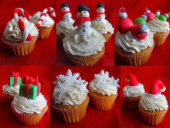 The Sensational Cakes Simple Xmas Cupcakes 2014