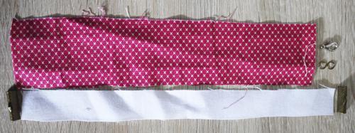 tutorial cara membuat gelang kain