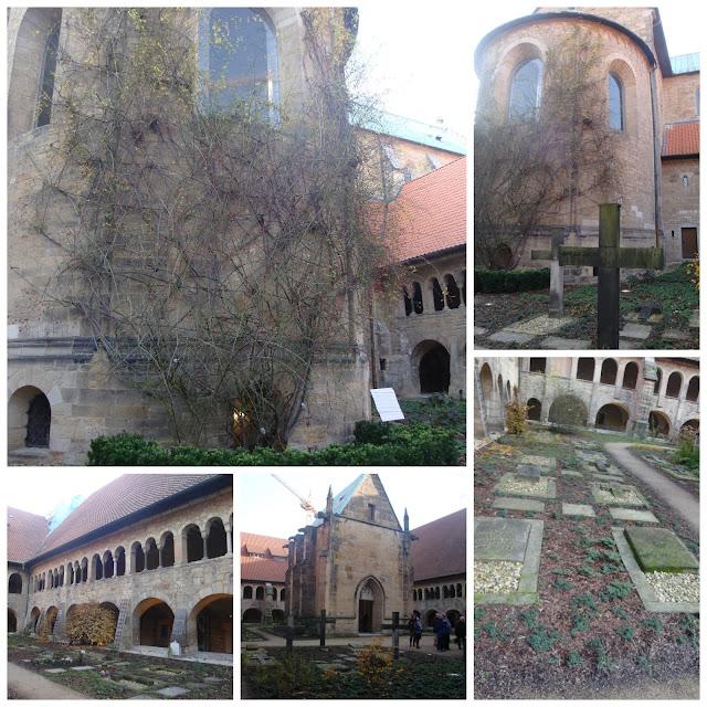 roseira na Catedral de Santa Maria em Hildesheim