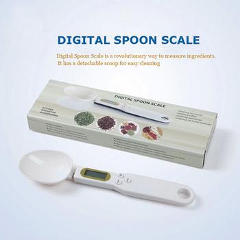 Цифровые электронные кухонные весы в форме мерной ложки