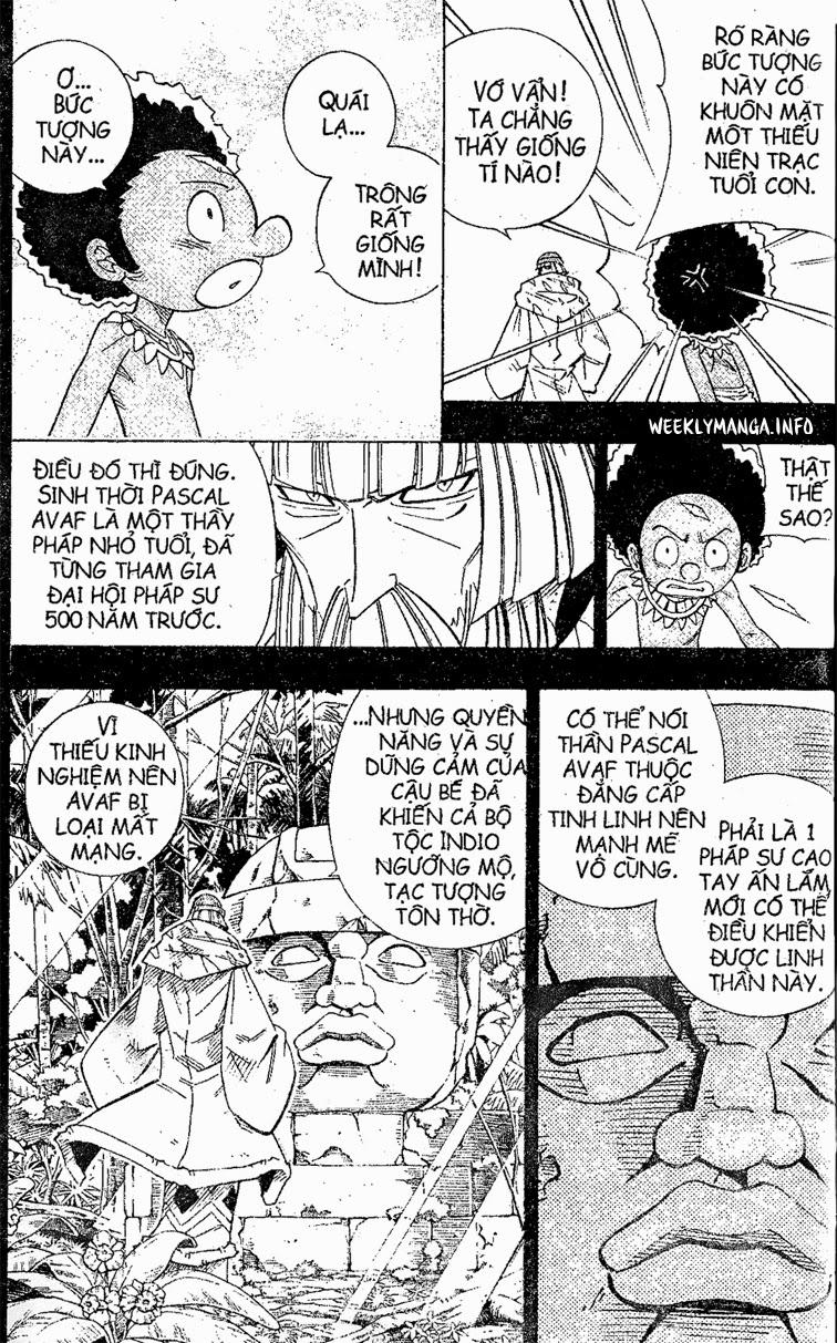 Shaman King [Vua pháp thuật] chap 205 trang 4