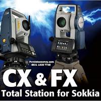 SOKKIA FX-101  FX-102  FX-103  FX-105 Total Station ® teknologi nirkabel Class1