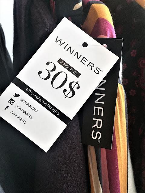 bas prix chez winners à Montréal