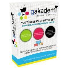 Görüntülü YGS Eğitim Seti Tüm Dersler 133 DVD