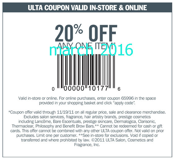 Ulta 5 Coupon 2018 Fuji Steakhouse Printable Coupon