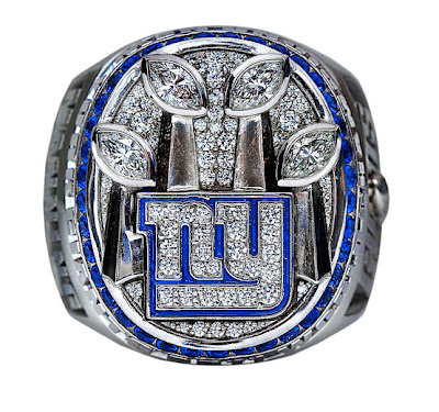 46th super bowl ring New York Giants