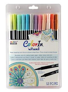 UCHIDA Le Plume II Pastel Markers
