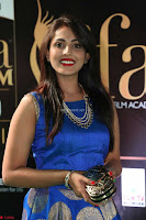 Madhu Shalini Looks Super Cute Slim trim Blue Choli Ghagra IIFA Utsavam Awards 38.JPG