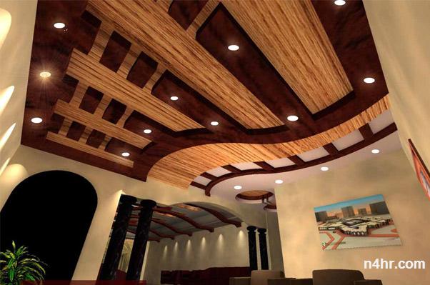 Platre sous la forme de bois ms timicha d coration for Decor platre marocain 2015