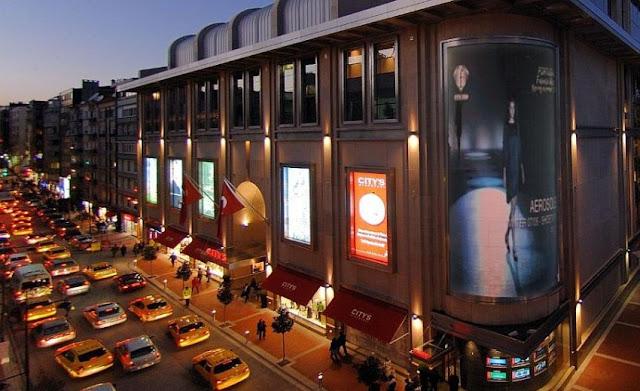 Shopping City's em Istambul na Turquia