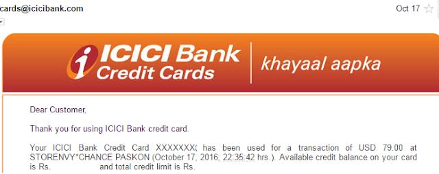 International Travel Credit Card Usage