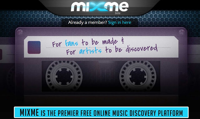 MixMe is the premier free Online Music Discovery Platform