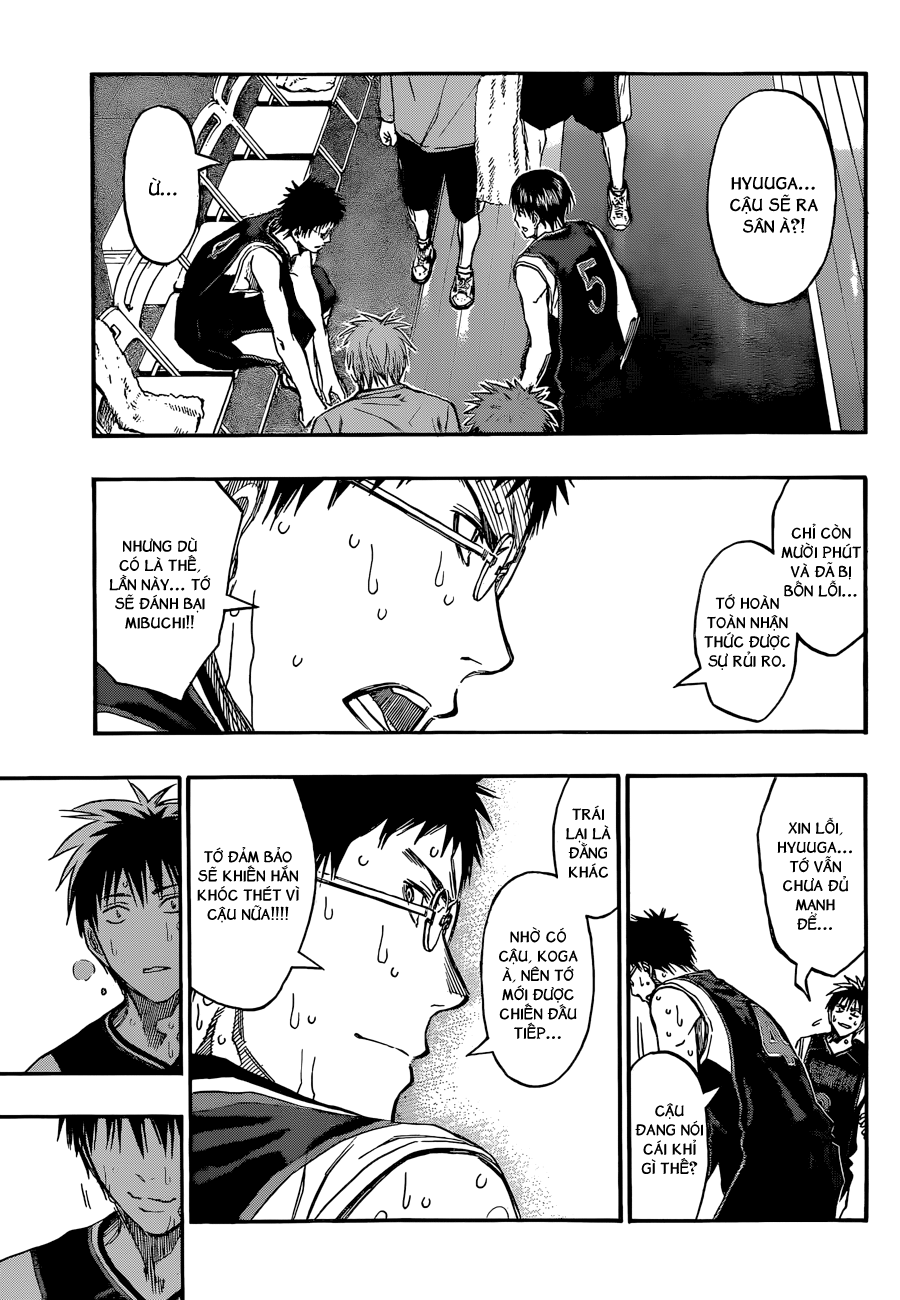 Kuroko No Basket chap 257 trang 8
