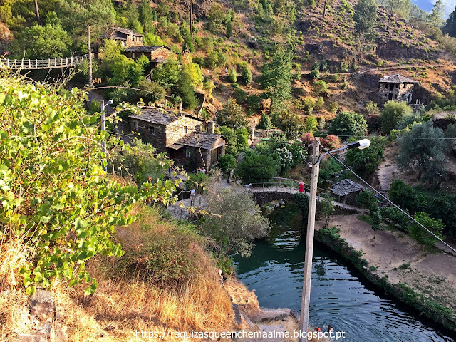 Confluência entre a ribeira de Piódão com a ribeira de Chãs, Praia fluvial de Foz D'Égua