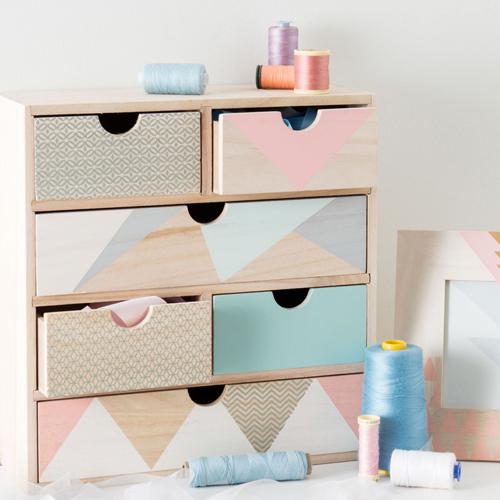 print pattern maisons du monde modern copper. Black Bedroom Furniture Sets. Home Design Ideas