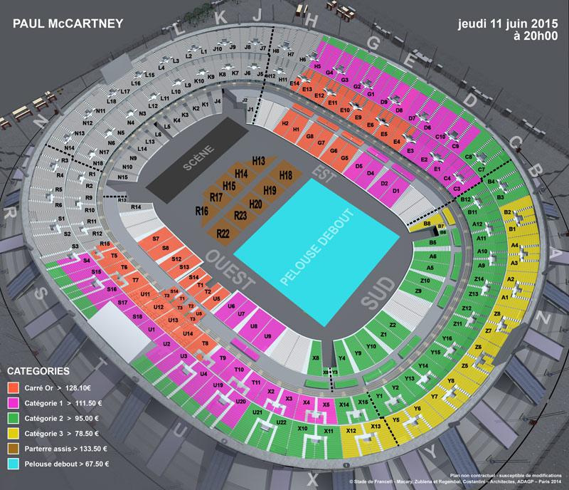 Rockerparis Paul Mccartney Part 1 Stade De France Paris 11 Juin 2015