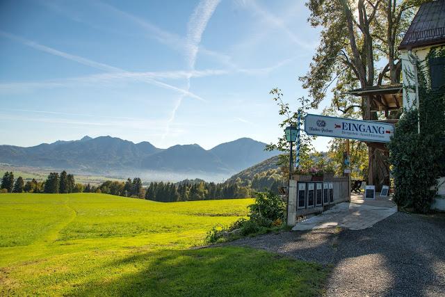 Rundweg Ohlstadt - Kreut-Alm  Freilichtmuseum Glentleiten Schwaiganger  Wandern im Blauen Land 08