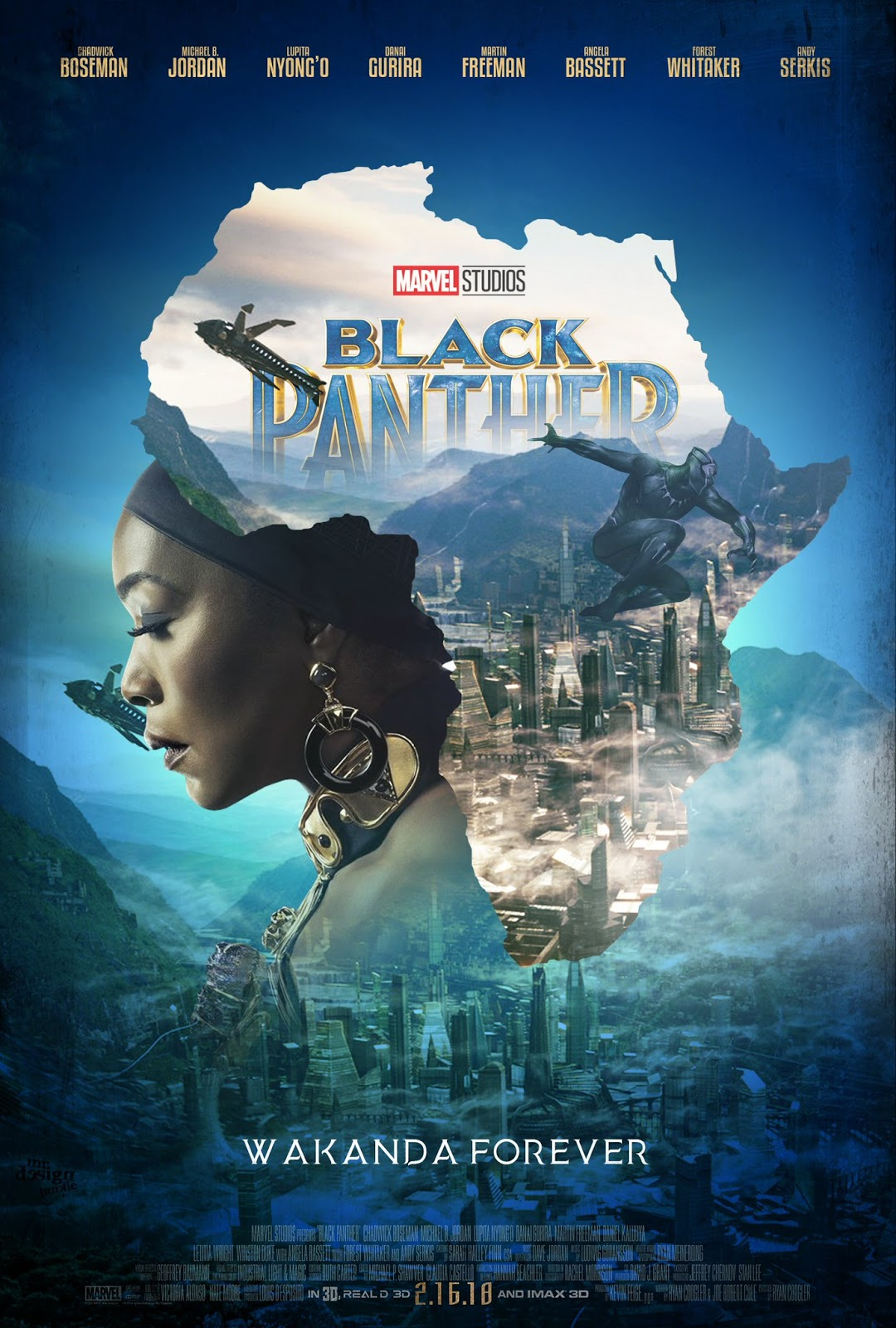 These Black Panther Fan Movie Posters Are Everything The Geek Twins