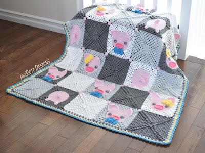 Pig Blanket Crochet Pattern