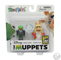 San Diego Comic-Con 2016 Toys R Us Exclusive THE MUPPETS Minimates Formal Kermit and Formal Miss Piggy 2-Pack from Diamond Select Toys