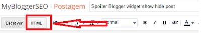 spoiler blogger widget