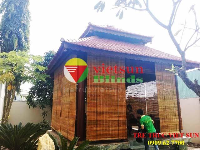 Việt Sun Blinds là nhà cung cấp các loại rèm tre chống nắng cho kí túc xá số 1 trên thị trường hiện nay.