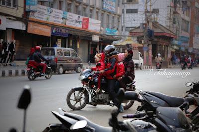 ネパール パタンの街道