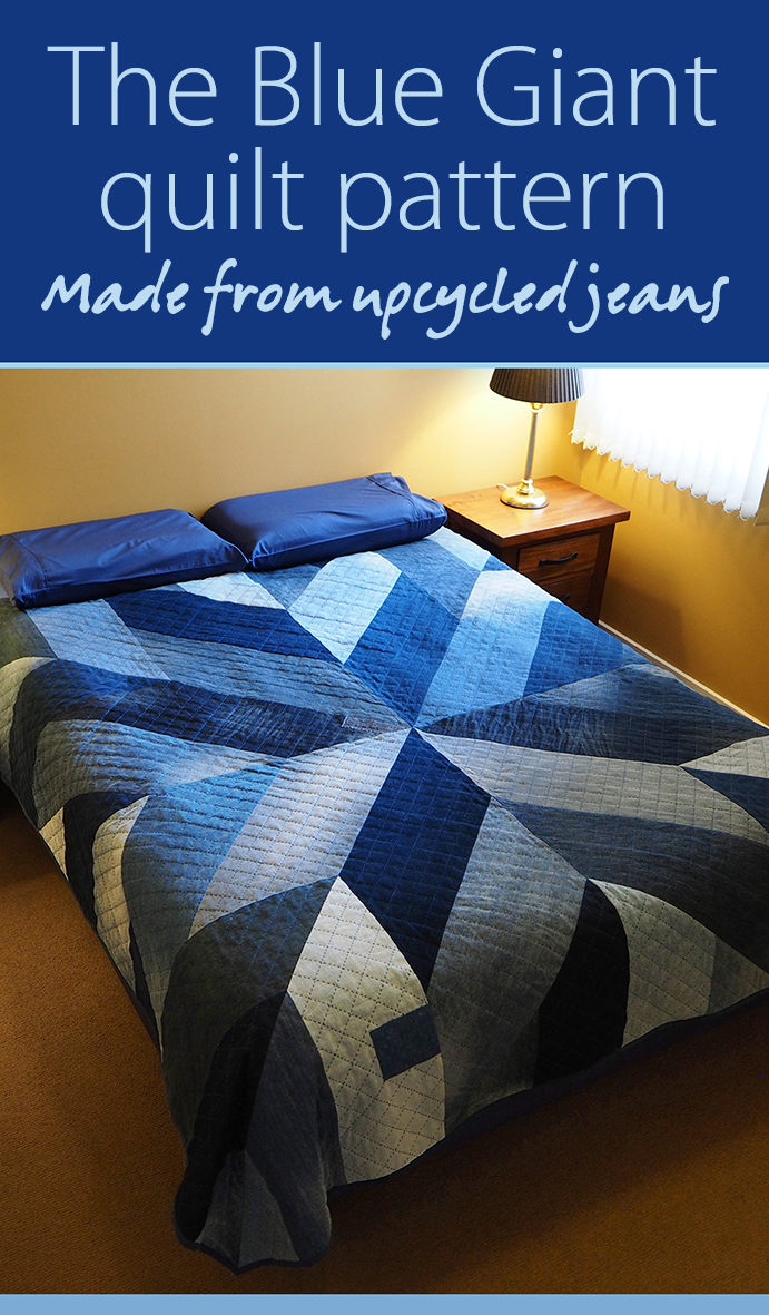 Make your own Blue Giant quilt – downloadable pdf pattern