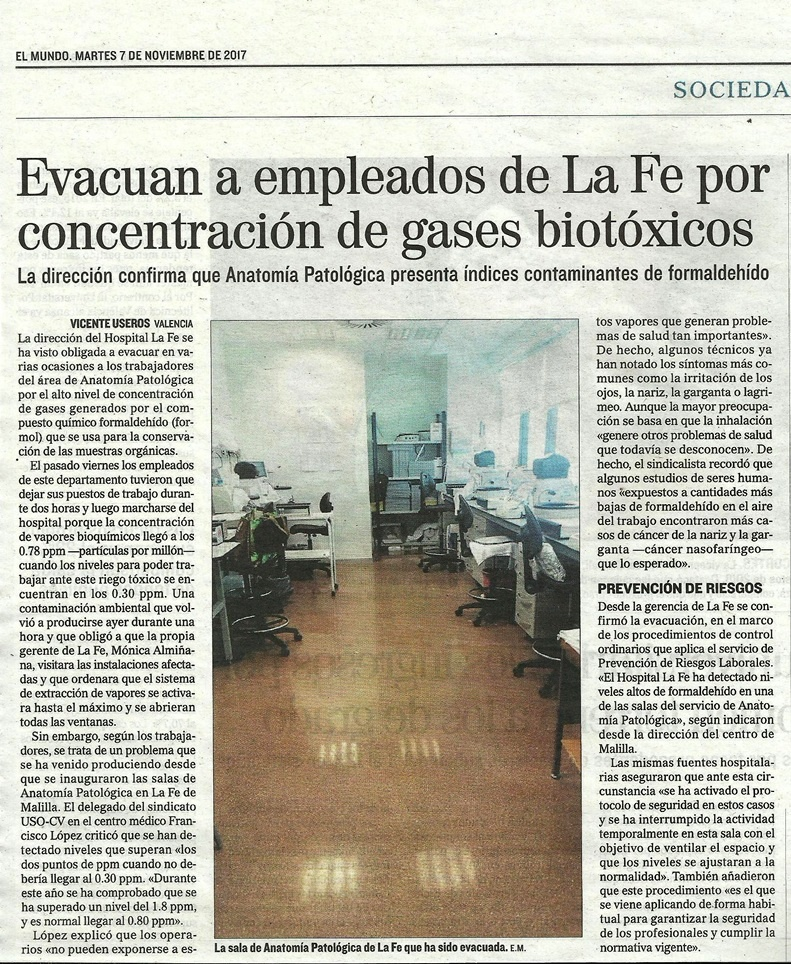 LA DIRECCION DE LA FE CONFIRMA QUE ANATOMIA PATOLOGICA PRESENTA ...
