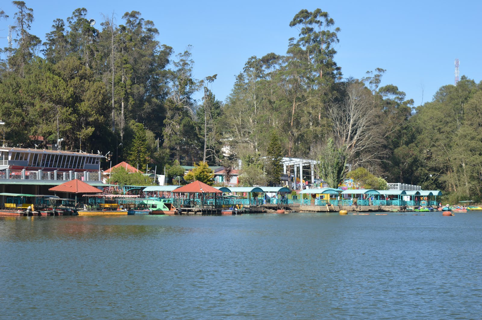 boat point, ooty lake, ooty; shiv sangal