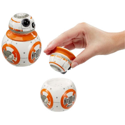 BB-8 Salt and Pepper Shakers
