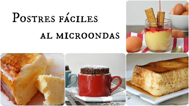 4 Postres Fáciles Al Microondas