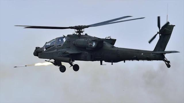 EEUU desplegará 24 helicópteros Apache en la península coreana